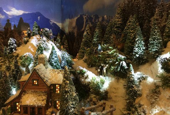 Village de Noël/Christmas Village 2014 de nuit: Sorties dans la nuit
