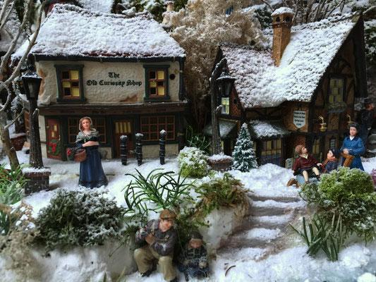 Village de Noël/Christmas Village 2014: Bord de ruisseau