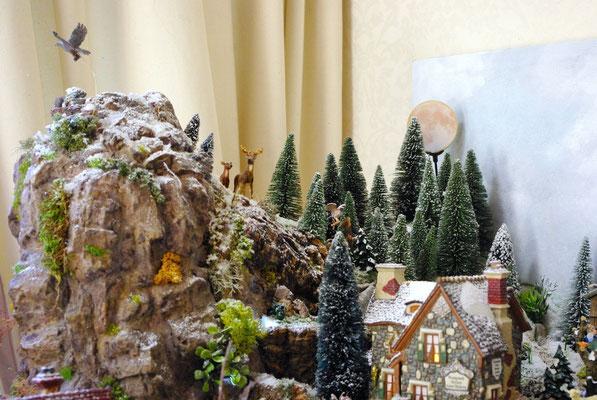 Village Noël/Christmas Village 2013 : Le promontoire rocheux