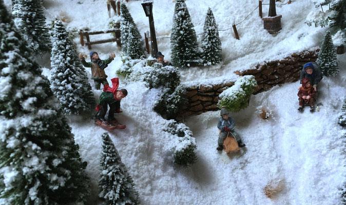 Village de Noël/Christmas Village 2014: Les intrépides