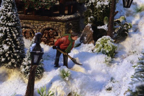 Village de Noël/Christmas Village 2014: Il faut dégager l'allée