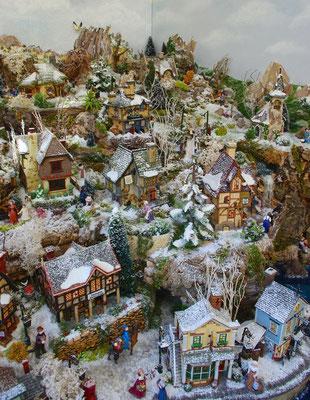 Village Noël/Christmas Village 2013 : Petite vue aérienne