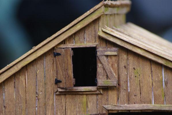 Vieille grange de Sully: La fenêtre du haut