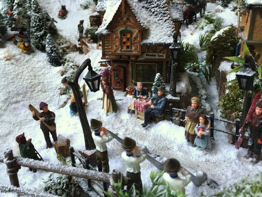 Village de Noël/Christmas Village 2014: Un concert bien sympathique
