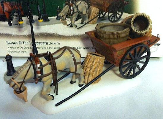 Horses at the lampguard - #56-58531 - Vue 1