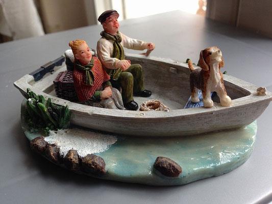 Family on boat - 610039 - vue 2
