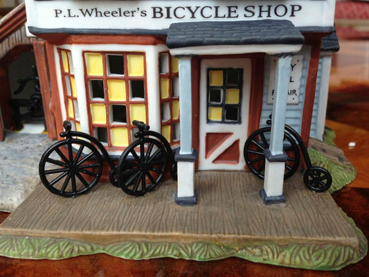 P.L Wheelers's bicycle shop - DP56-56613 - détails