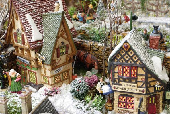 Village Noël/Christmas Village 2013 : La taverne du haut