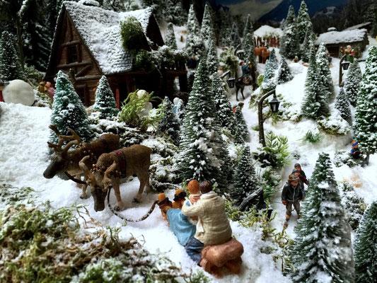 Village de Noël/Christmas Village 2014: Un arrêt pour admirer le paysage