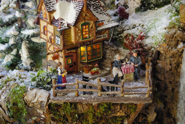 Village Noël/Christmas Village 2013: Terrasse panoramique