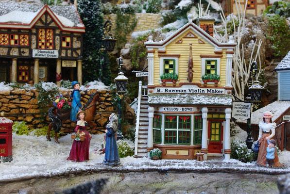 Village Noël/Christmas Village 2013: Rencontres sur les quais