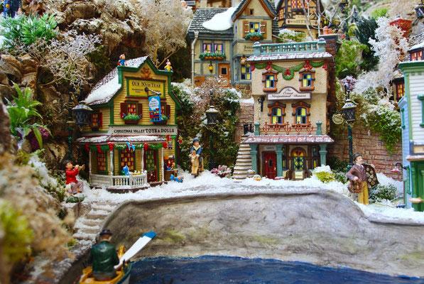 Village Noël/Christmas Village 2013: Boutique des jouets
