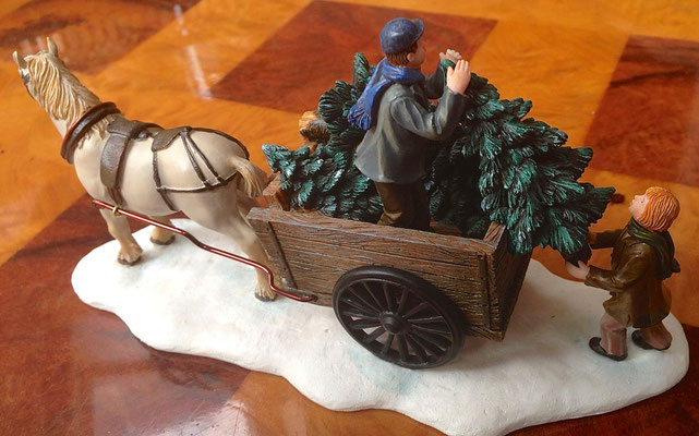 Lifting trees from a carriage - 600728 - vue 2
