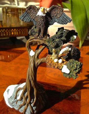 Bald eagle nesting - # 56-52972 - Vue 2