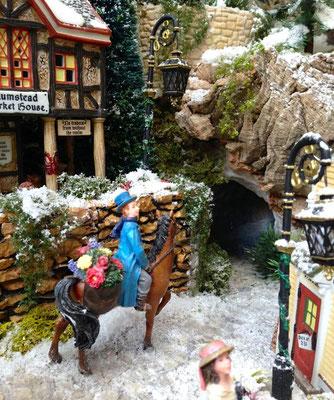 Village Noël/Christmas Village 2013: ...En passant par le tunnel