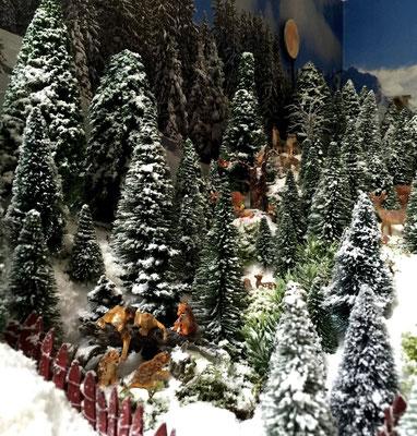 Village Noël /Christmas Village 2014, les hauteurs: ... une vie tranquille