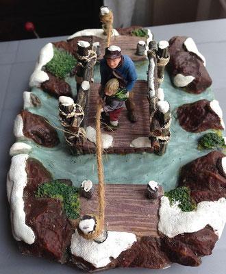 Wooden raft - 604016 - Vue 3