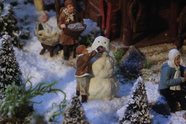 Village de Noël/Christmas Village 2014: En voilà un beau nez!
