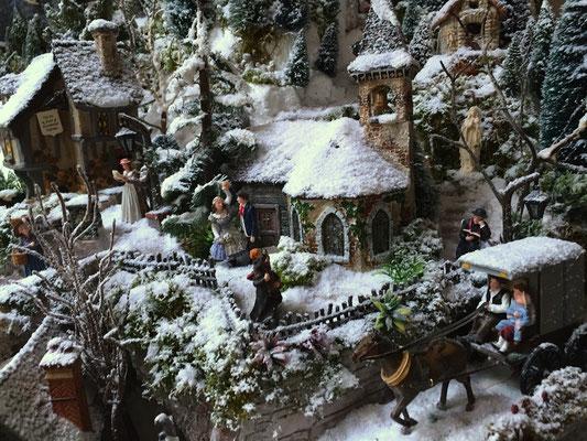 Village de Noël/Christmas Village 2014: Le quartier de l'église
