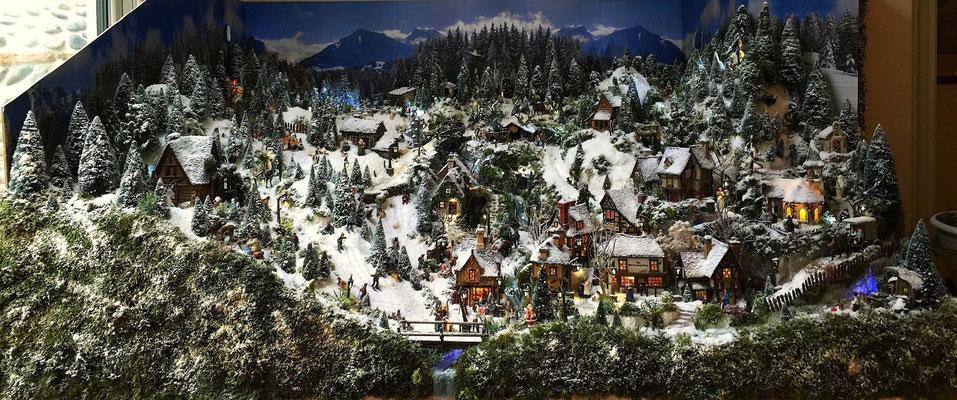 Village Noël /Christmas Village 2014 : Vues générales 01