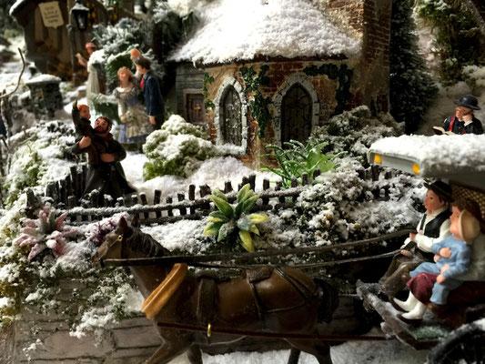 Village de Noël/Christmas Village 2014: Hello les amis !
