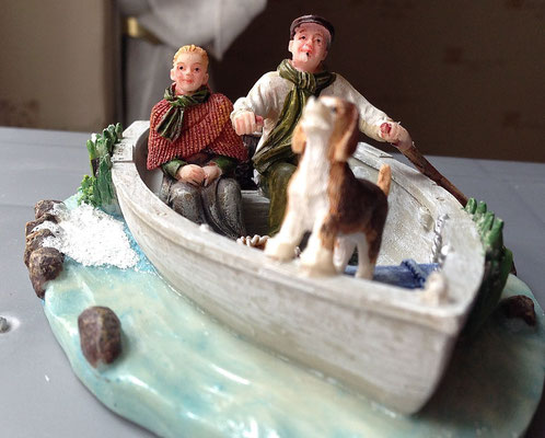 Family on boat - 610039 - vue 3