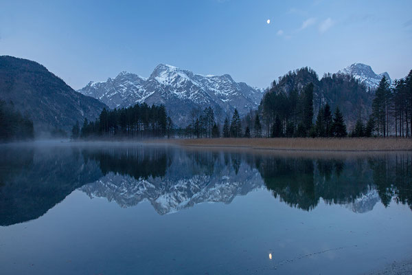 Almsee im Mondlicht