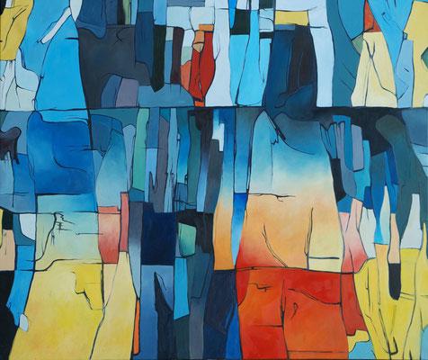 Mircoma 1, 220x185cm, oil on canvas, banck 2008 #
