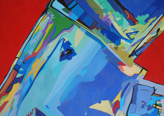 Mircoma 3, 170x120cm, oil on canvas, banck 2008