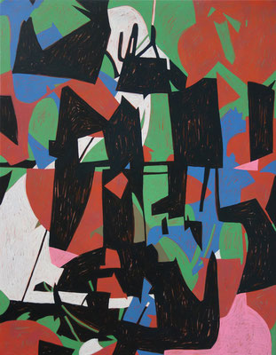 5212, 70x90cm, acryl on canvas, banck 2014 #