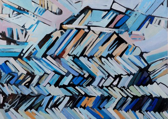 Mircoma 6, 170x120cm, oil on canvas, banck 2008