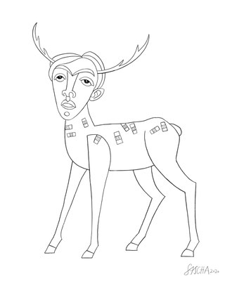 the doctored deer