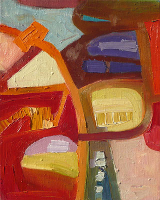 come inside 8, 30x40cm, oil on canvas, banck 2007