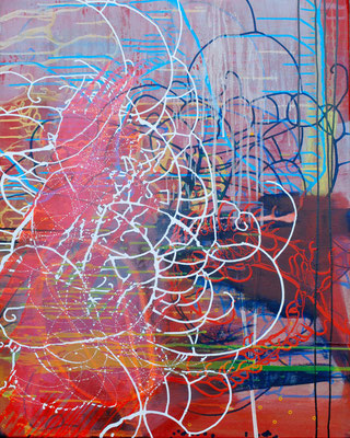 Isaak 22, 80x100cm, acryl on canvas, banck 2009 #