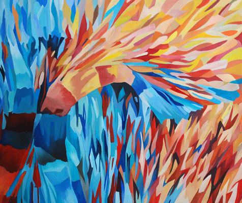 Mircoma 2, 220x185cm, oil on canvas, banck 2008 #