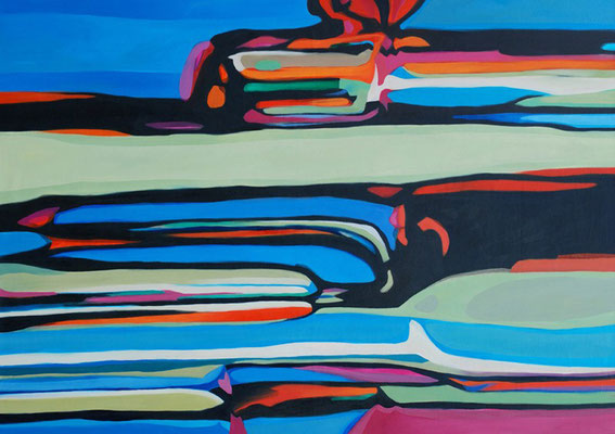 Mircoma 7, 170x120cm, oil on canvas, banck 2008