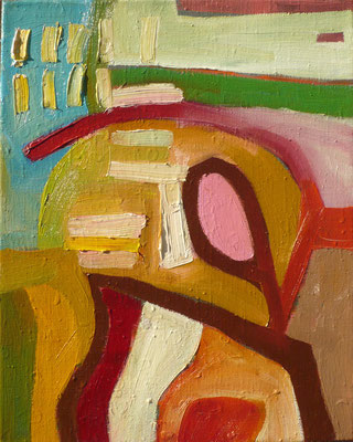 come inside 11, 30x40cm, oil on canvas, banck 2007