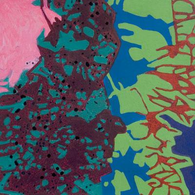 konvergenz_sat20_03, 20x20cm, Acryl auf Papier, 2010