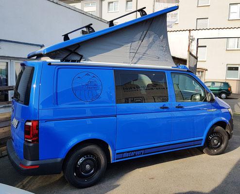 VW T6 Camper Summerblue mieten
