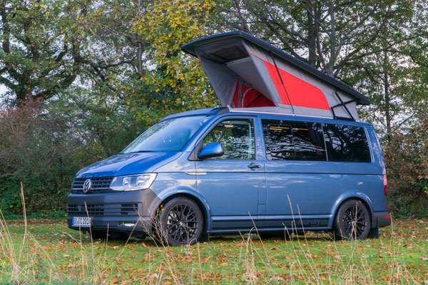 VW T6 Camper mit Bilstein Gewindefahrwerk