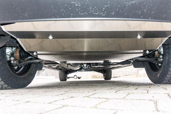 Unterfahrschutz für Motor und Getriebe