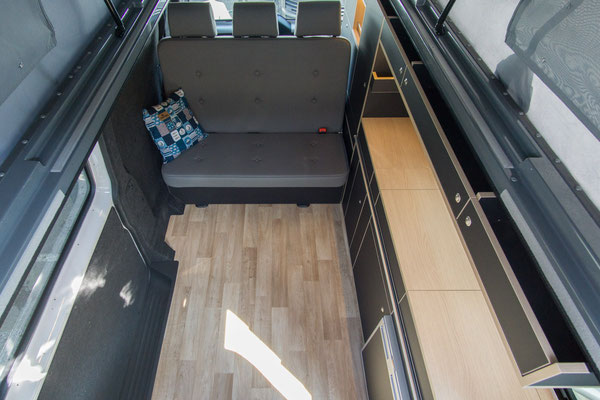 Mehr Wohnraum im VW T6 mit langem Radstand