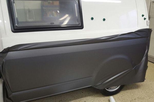 Folierung VW T5 Seite