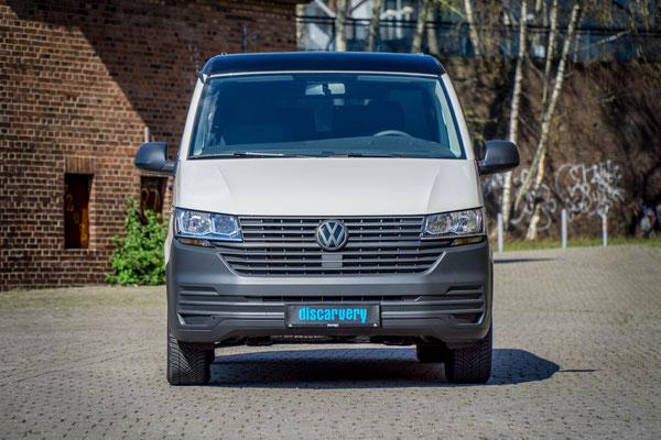 VWT6 Facelift Camper Black Edition Frontansicht