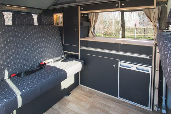 Sitzbezug Art Deco Black