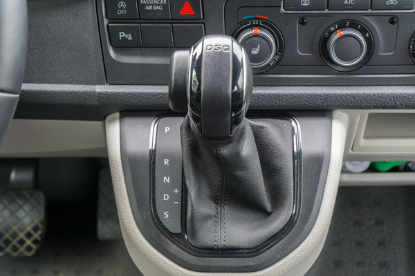 DSG Automatikgetriebe, möglich ab 110 KW