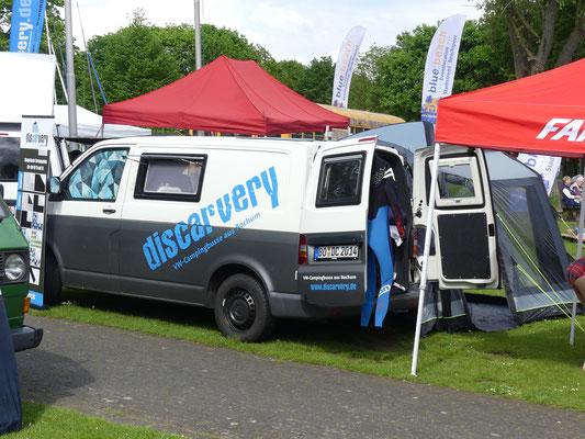 Discarvery VW T5 Camper mit Neoprenanzug
