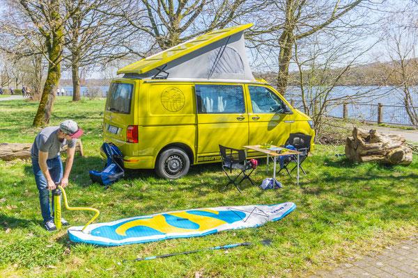"VW T6 Miet Camper ""Sunny"""