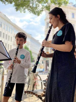 Klarinettenunterricht in Wien für Kinder