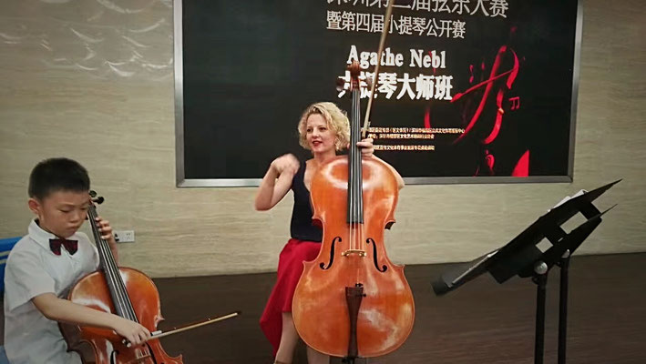 Meisterkurs in Shenzhen/China - Agathe Nebl